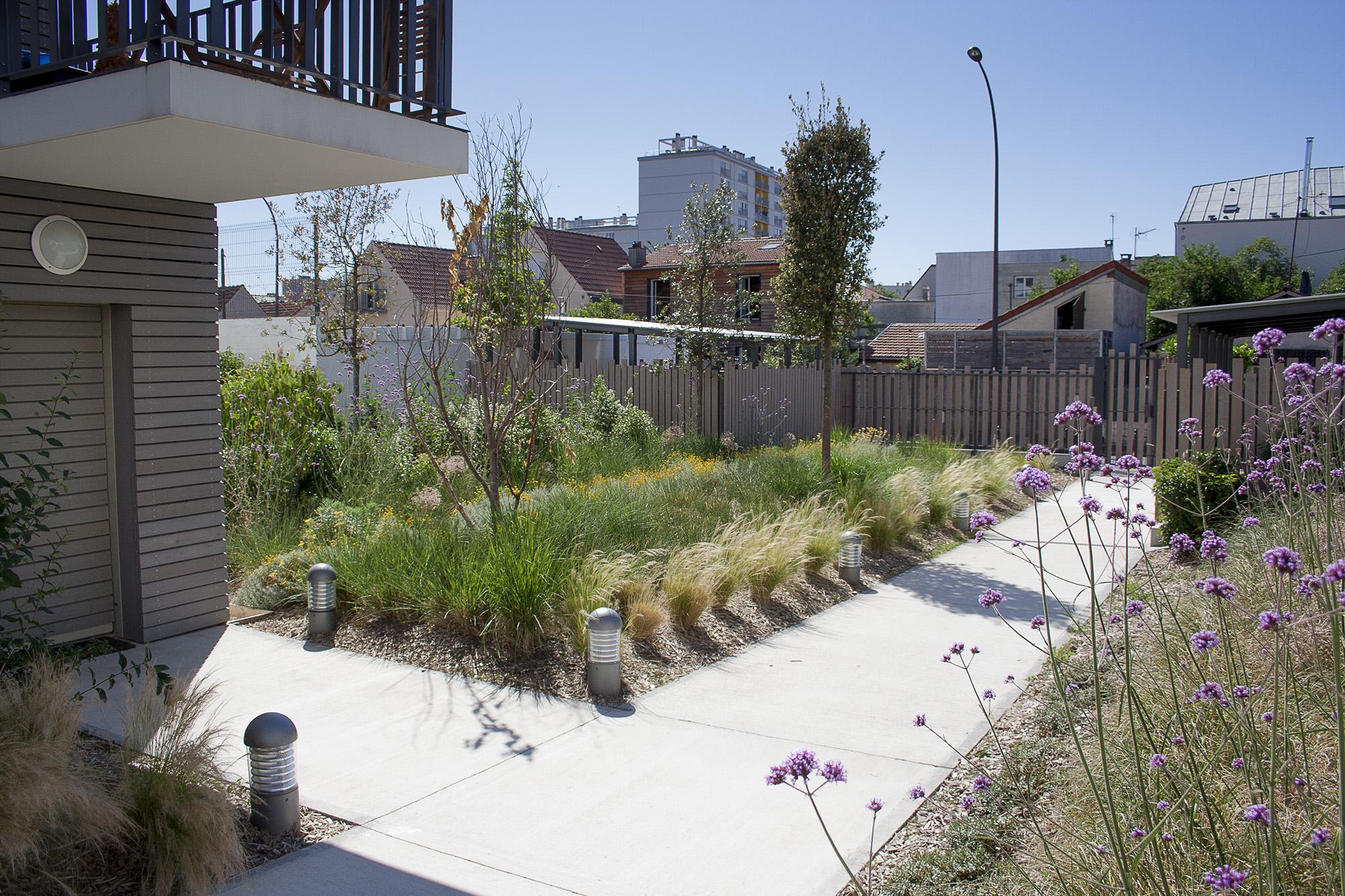Un jardin des lanières
