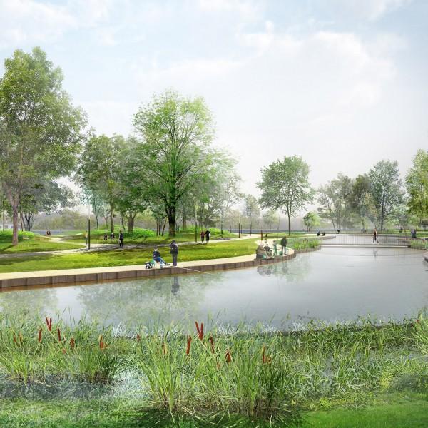 Parc de wambrechies la compagnie du paysage for Agence paysage nord