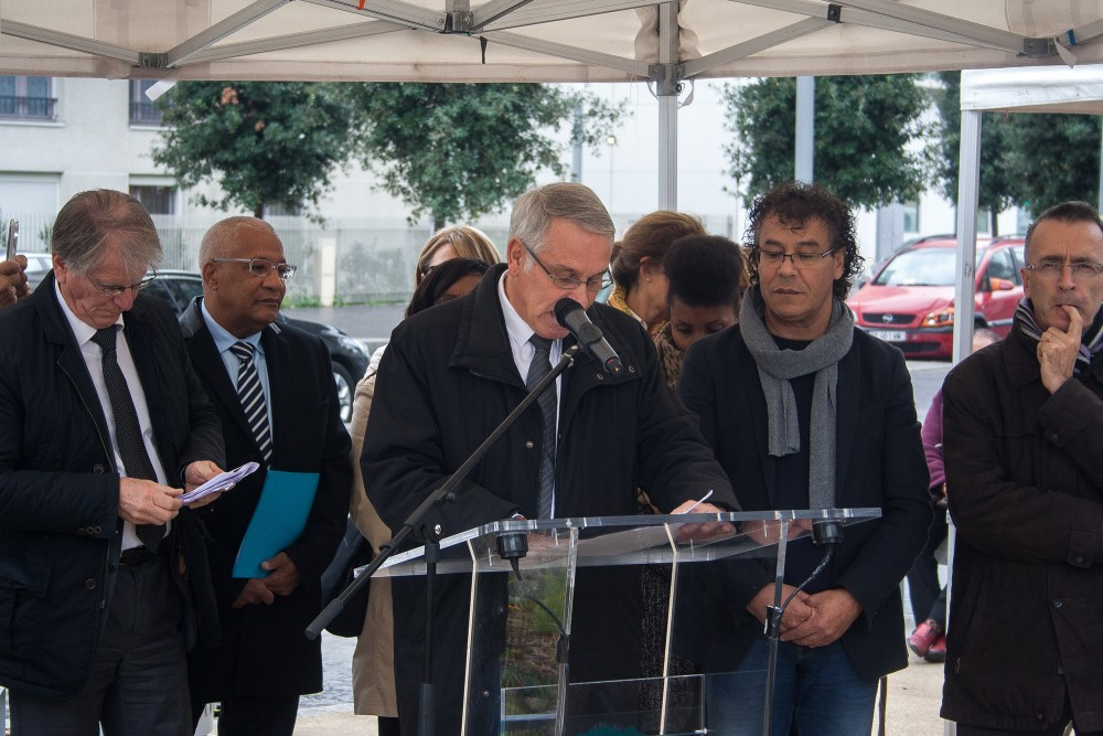 Discours inaugural de l'allée Aimé Césaire à Epinay-sur-Seine