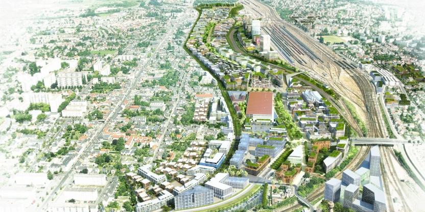 Le futur quartier Interives à Fleury Les Aubrais