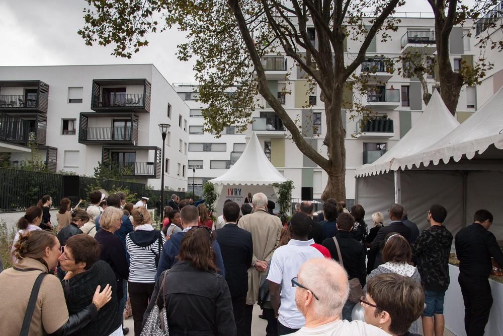 Discours inauguratif du quartier Carnot verollot 2ème phase
