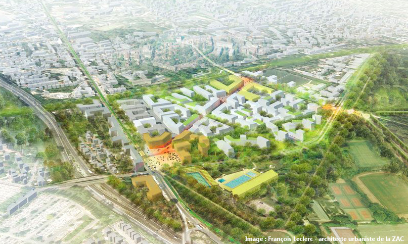 ZAC Parc Centrale - Châtenay-Malabry : Francois Leclerc - Architecte urbaniste de la ZAC