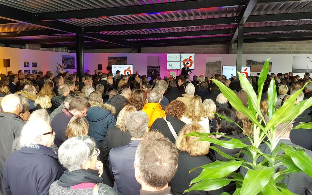 Discours d'inauguration de l'Honfleur Normandy Outlet
