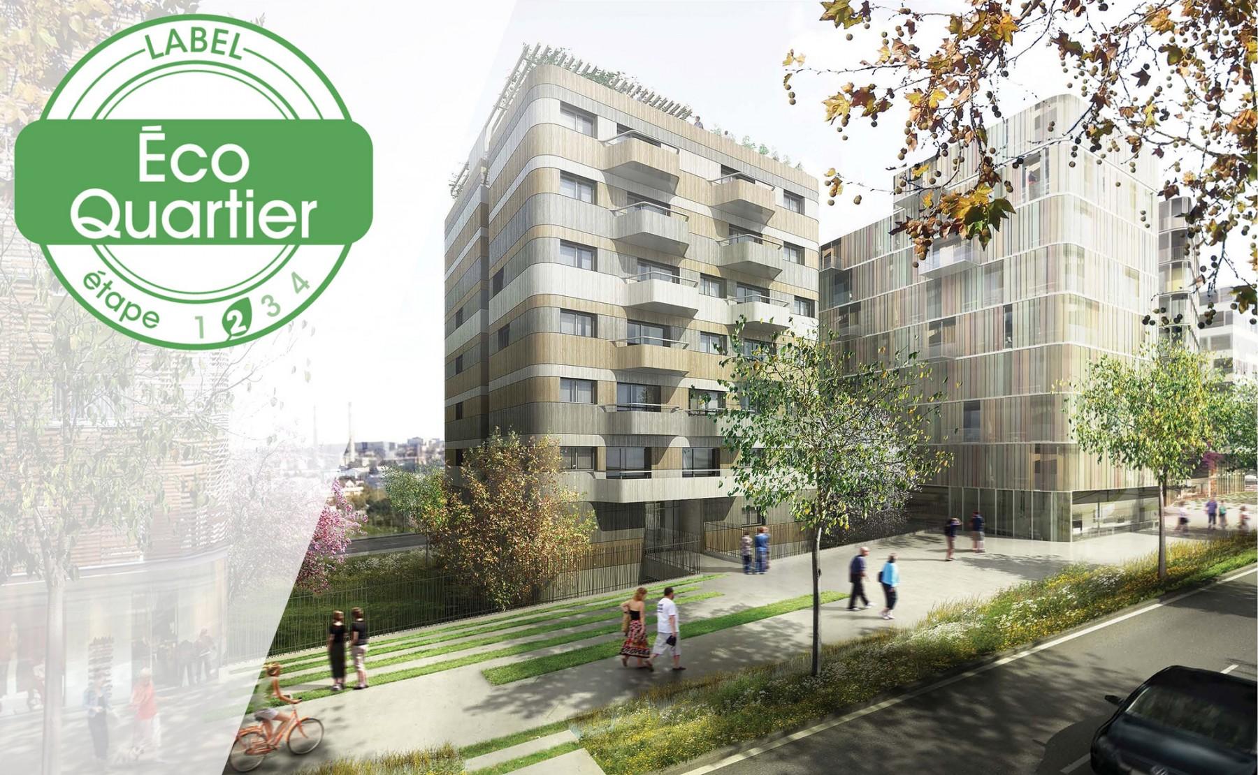 Labellisation EcoQuartier 2017 étape 2 de la ZAC Rouget de Lisle
