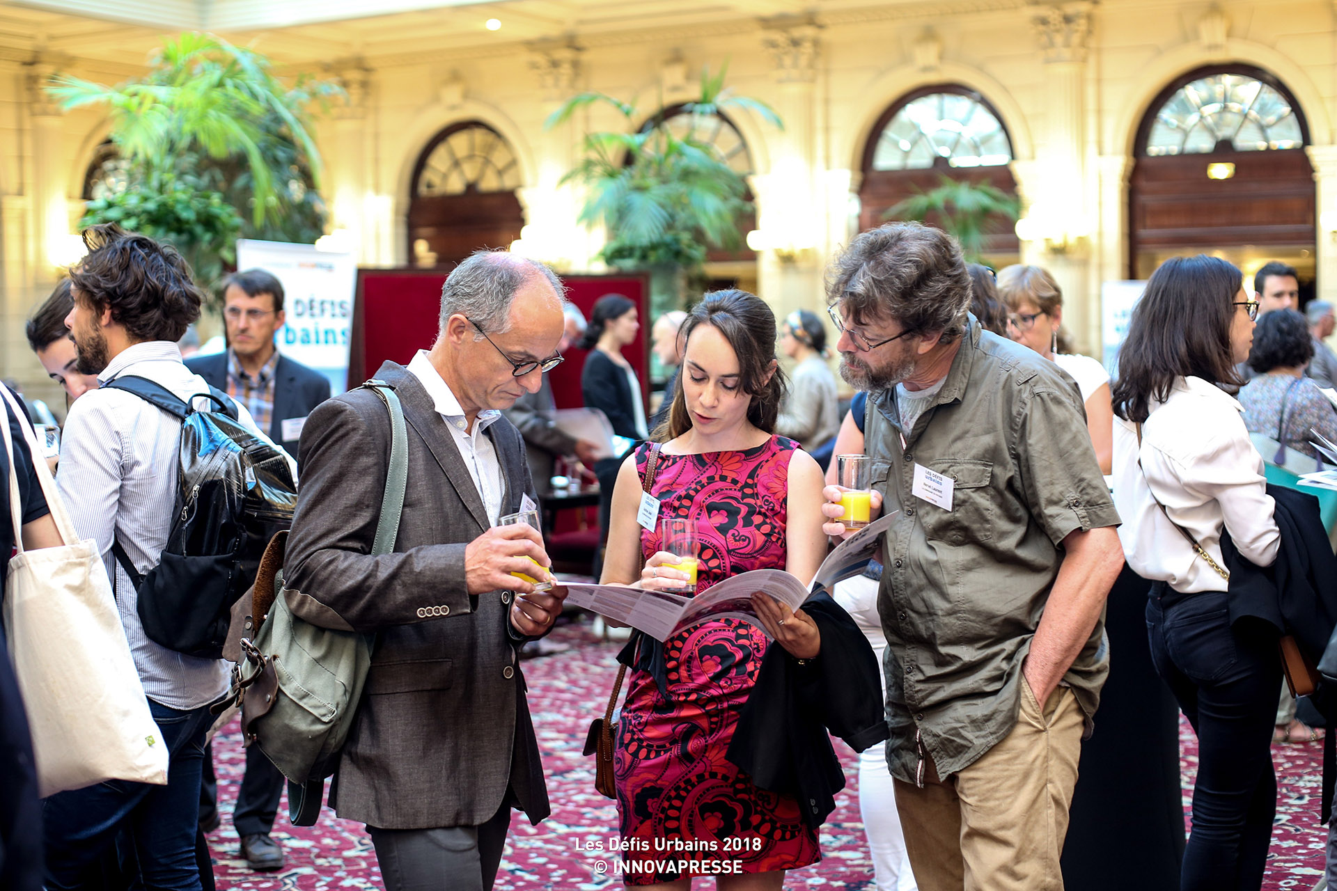 Adeline Jean entouré à droite d'Hervé Laurent et de Christophe Mazier de la SHEMA
