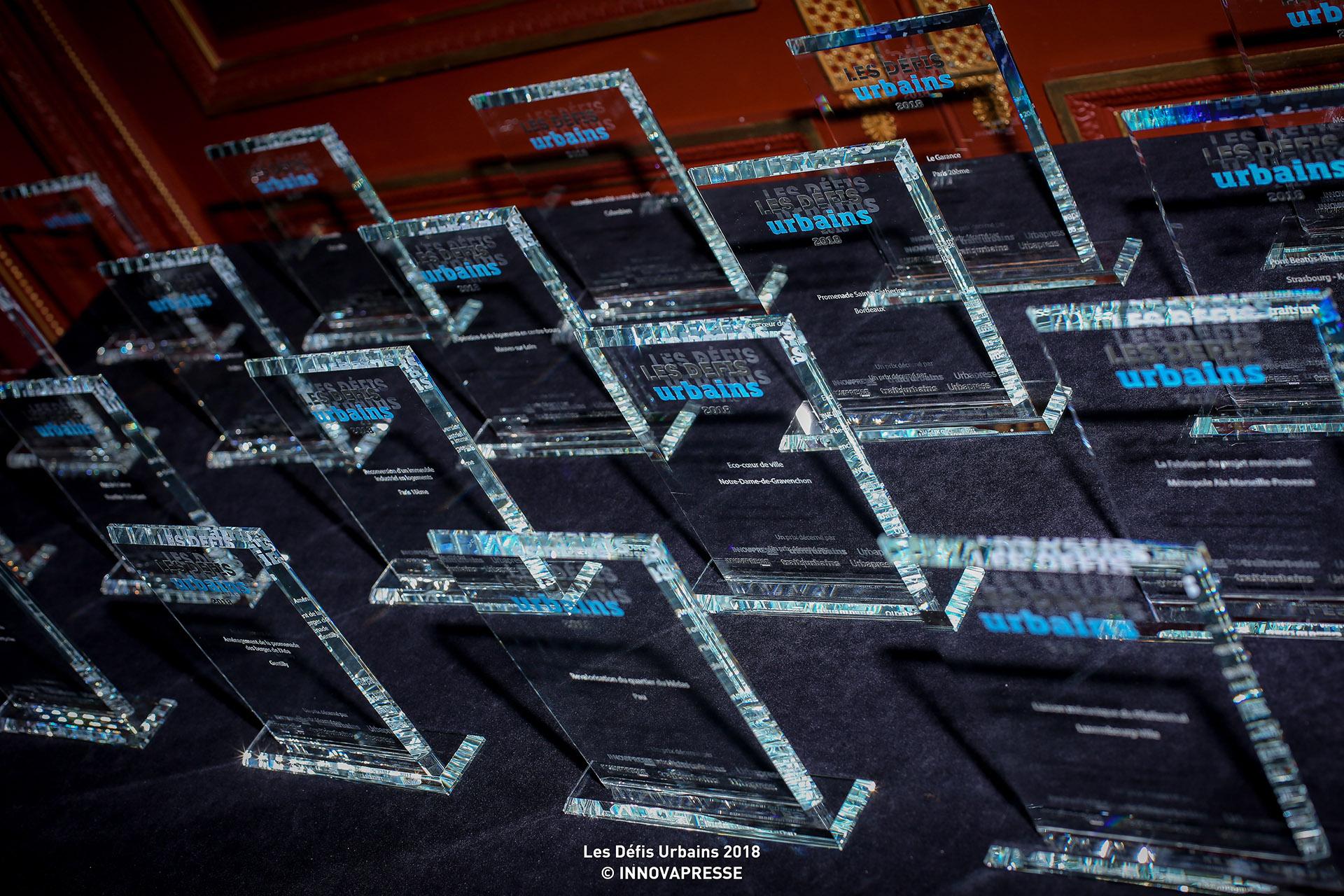 Les trophées des Défis urbains 2018