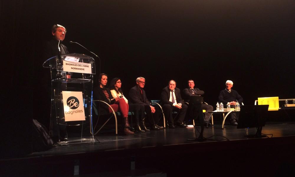 Réunion public de présentation du projet de requalification du quartier de la Gare à Bagnoles de L'orne