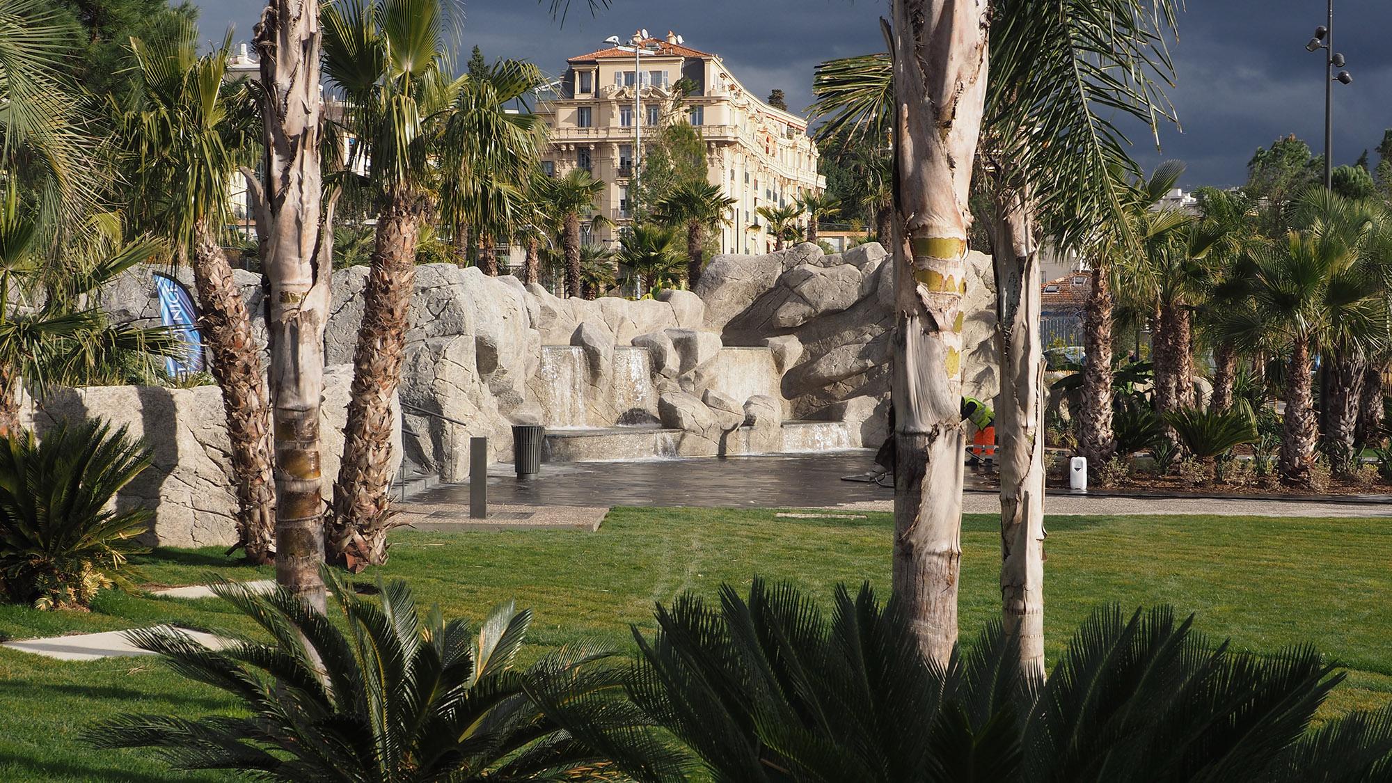 Parc du Ray - Nice - La fontaine
