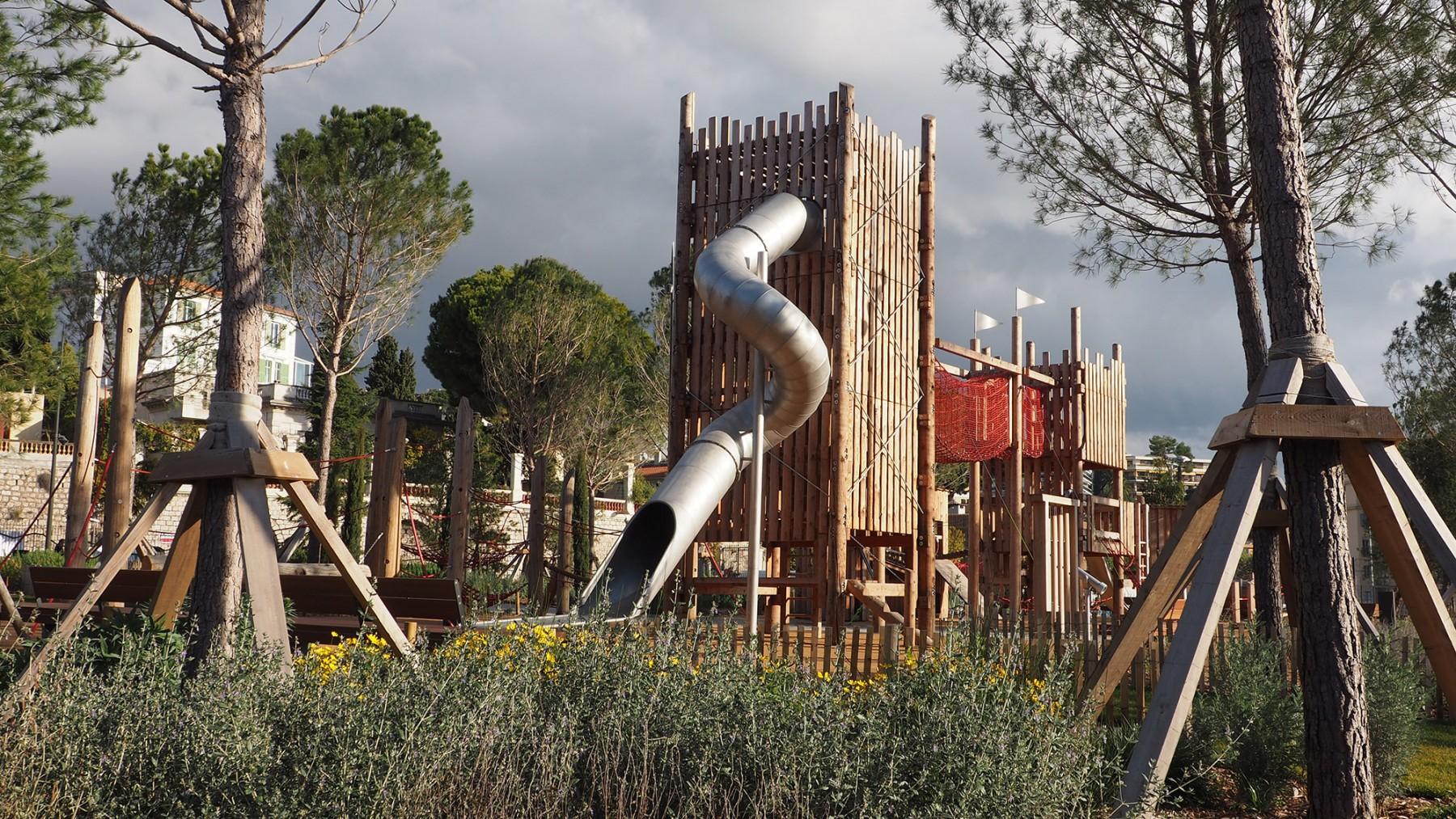 Parc du Ray - Nice - l