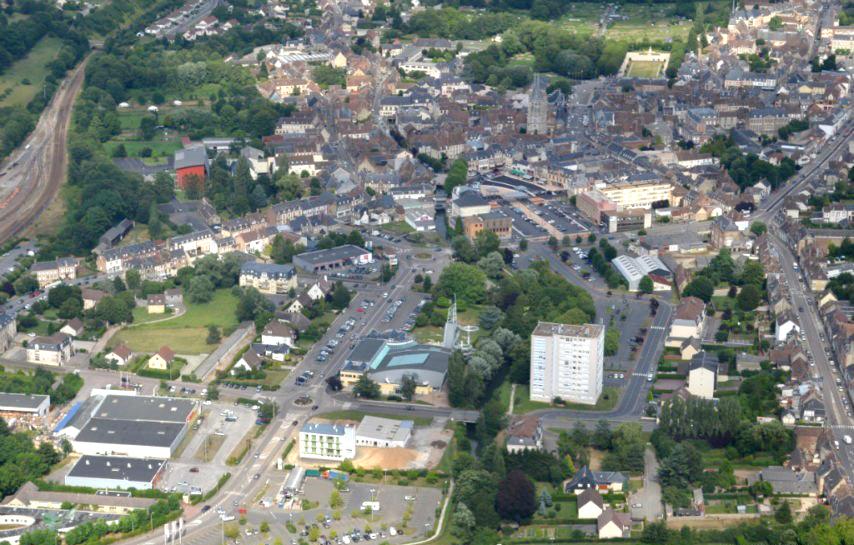 Centre ville de l'Aigle