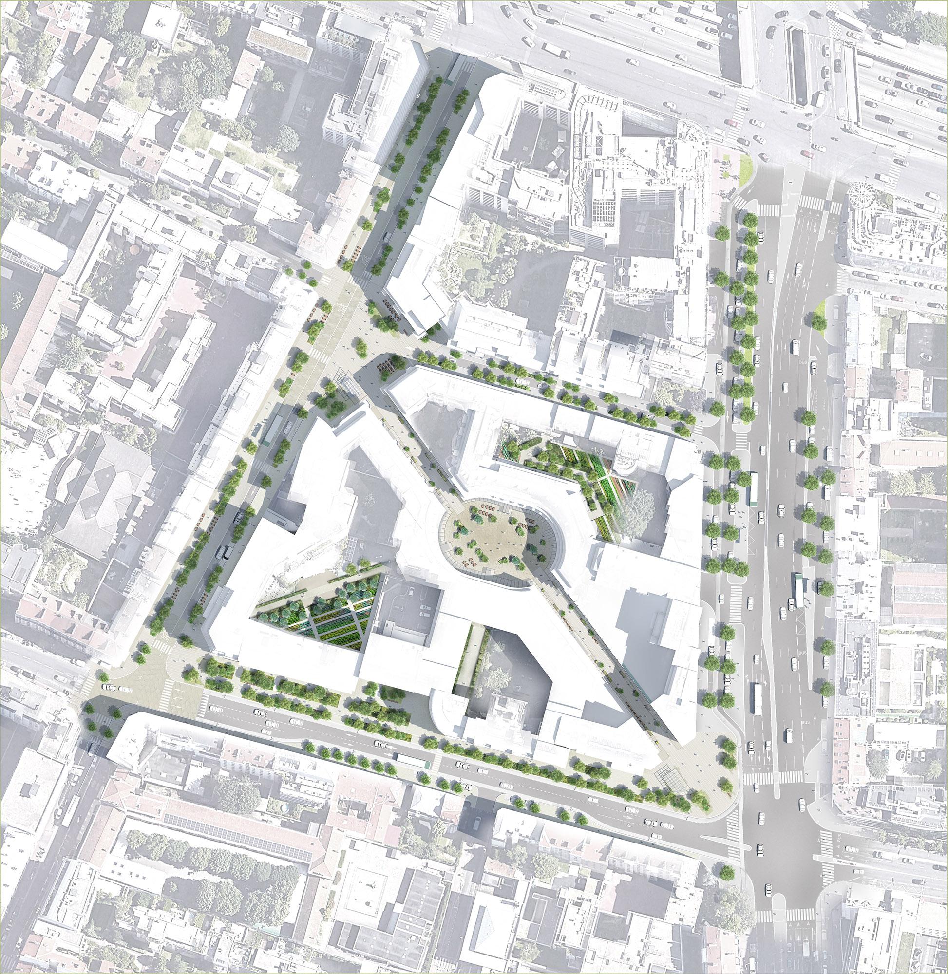 Plan masse du quartier Gautier Ginoux