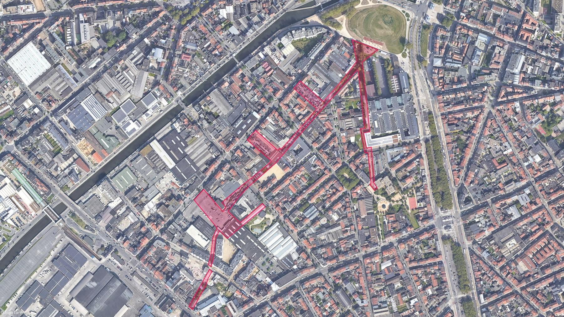 Parc de la Sennette à Bruxelles - Périmètre de la consultation